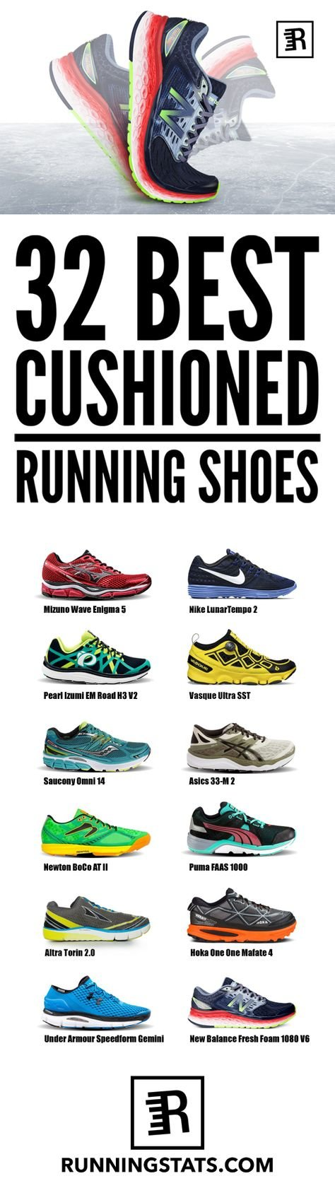17a55f86a 32 Best Cushioned Running Shoes (2016) for the Modern Day Runner