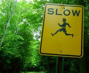 sign-slow-running